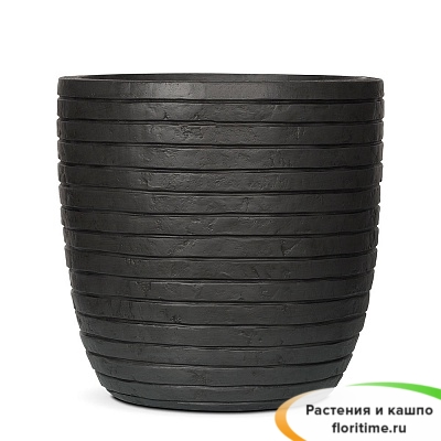 Кашпо Capi Nature Planter Ball Row, anthracite
