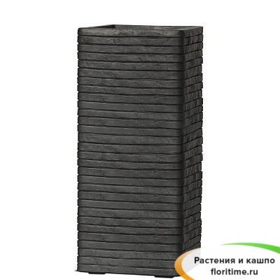 Кашпо Capi Nature Planter Rectangular Row, anthracite