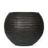 Кашпо Capi Nature Vase Ball Row, anthracite