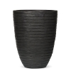 Кашпо Capi Nature Vase Elegant Low Row, anthracite