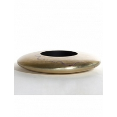 Кашпо Nieuwkoop Ufo planter champagne with mother of pearl