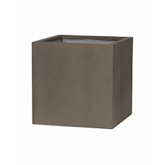 Кашпо Pottery Pots Eco-line block m, sand cement Длина — 40 см
