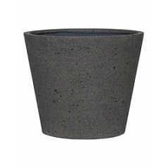 Кашпо Pottery Pots Eco-line bucket l, laterite grey, серого цвета  Диаметр — 58 см