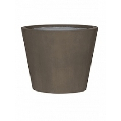 Кашпо Pottery Pots Eco-line bucket m, sand cement  Диаметр — 50 см