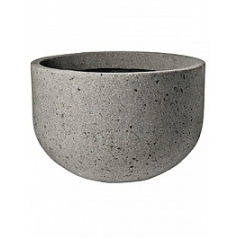 Кашпо Pottery Pots Eco-line city bowl xxs laterite grey, серого цвета  Диаметр — 54 см