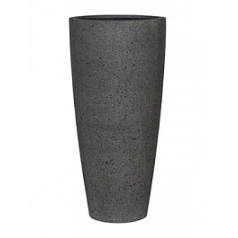 Кашпо Pottery Pots Eco-line dax xl, laterite grey, серого цвета  Диаметр — 47 см