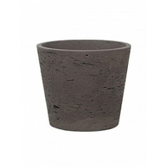 Кашпо Pottery Pots Eco-line mini bucket L размер chocolate  Диаметр — 23 см