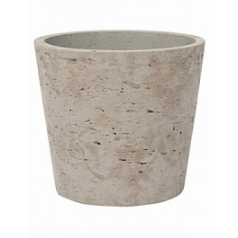 Кашпо Pottery Pots Eco-line mini bucket S размер grey, серого цвета washed  Диаметр — 14 см