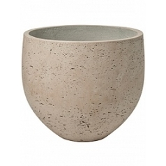 Кашпо Pottery Pots Eco-line mini orb L размер grey, серого цвета washed  Диаметр — 32 см