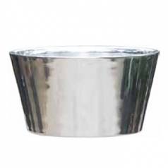 Кашпо Polished Tub, алюминий