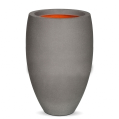 Кашпо Capi Tutch Vase Elegance Deluxe, Light Grey