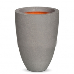 Кашпо Capi Tutch Vase Elegance Low, Light Grey