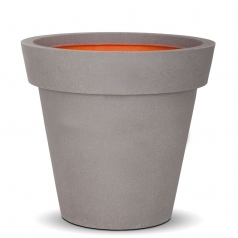 Кашпо Capi Tutch Vase Rim, Light Grey