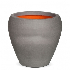 Кашпо Capi Tutch Vase Tapering Round, Light Grey