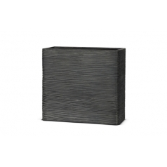 Кашпо Capi Nature Planter Envelope, rib black