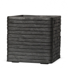 Кашпо Capi Nature Planter Square Row, anthracite