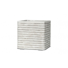 Кашпо Capi Nature Planter Square Row, Ivory