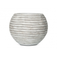 Кашпо Capi Nature Vase Ball Row, Ivory