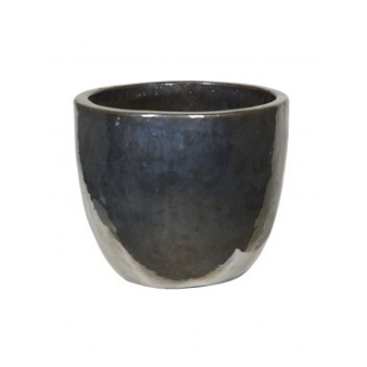 Кашпо Metal glaze couple, керамика