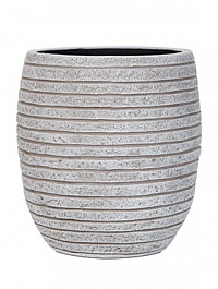 Кашпо Capi Nature row vase elegant high 2-й размер ivory, слоновая кость