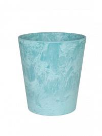 Кашпо Artstone claire pot aqua Диаметр — 12 см