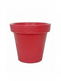 Кашпо Bloom! Holland red, красного цвета without light Диаметр — 60 см