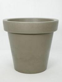 Светящееся Кашпо Bloom! Holland dark grey, серого цвета (taupe, тёмно-серый) Диаметр — 60 см