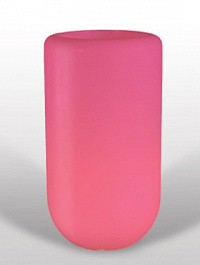 Светящееся Кашпо Bloom! Holland pill розовый Диаметр — 60 см