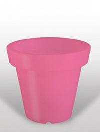 Светящееся Кашпо Bloom! Holland розовый Диаметр — 60 см