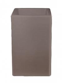 Светящееся Кашпо Bloom! Holland square dark grey, серого цвета (taupe, тёмно-серый) Длина — 50 см