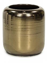 Ваза Fleur Ami Glaze vase antique-gold, под цвет золота, цвета античное золото  Диаметр — 50 см