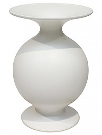 Ваза Fleur Ami Shape matt white, белого цвета  Диаметр — 37 см