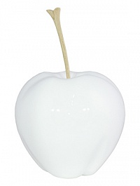 Яблоко декоративное Fleur Ami Apple white, белого цвета  Диаметр — 24 см