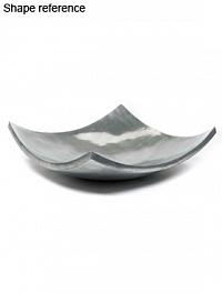 Блюдо Plants First Choice Element aluminium bowl square Длина — 61 см