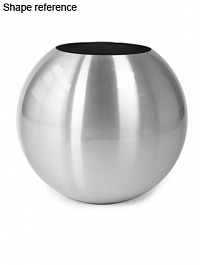 Кашпо Plants First Choice Aluminium planter sparkling  Диаметр — 70 см