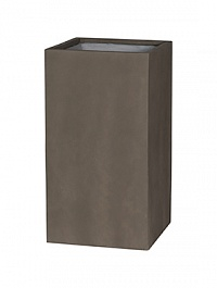 Кашпо Pottery Pots Eco-line bouvy l, sand cement Длина — 44 см