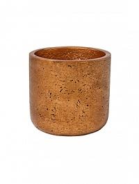 Кашпо Pottery Pots Eco-line charlie S размер metalic copper  Диаметр — 15 см