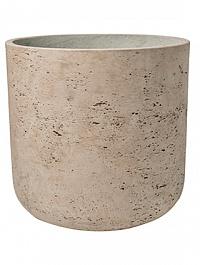 Кашпо Pottery Pots Eco-line charlie XL размер grey, серого цвета washed  Диаметр — 32 см