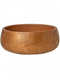 Кашпо Pottery Pots Eco-line eileen L размер metalic copper  Диаметр — 35 см