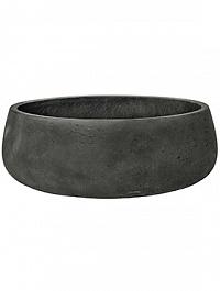 Кашпо Pottery Pots Eco-line eileen XL размер black, чёрного цвета washed  Диаметр — 39 см