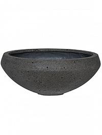 Кашпо Pottery Pots Eco-line eliza, laterite grey, серого цвета  Диаметр — 55 см