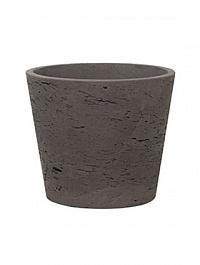 Кашпо Pottery Pots Eco-line mini bucket M размер chocolat  Диаметр — 16 см
