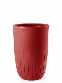 Кашпо TeraPlast Valentino 70 cardinal red, красного цвета  Диаметр — 42 см