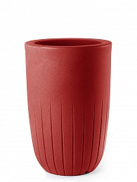 Кашпо TeraPlast Valentino 90 cardinal red, красного цвета  Диаметр — 52 см