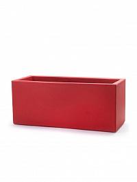 Кашпо TeraPlast Schio Cassa self watering 80 cardinal red, красного цвета Длина — 80 см