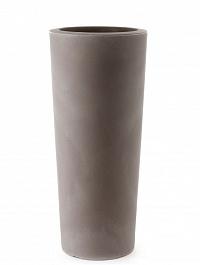 Кашпо TeraPlast Schio Cono 145 cappuccino  Диаметр — 55 см