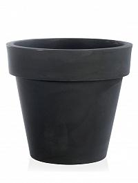 Кашпо TeraPlast Standard One 120 anthracite, цвет антрацит  Диаметр — 120 см