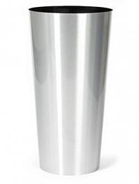 Кашпо Superline Alure conica aluminium brushed lacquered  Диаметр — 39 см Высота — 78 см