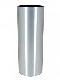 Кашпо Superline Alure pilaro aluminium brushed lacquered  Диаметр — 40 см Высота — 105 см