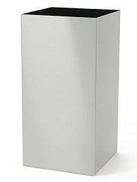 Кашпо Superline Alure trend aluminium brushed laquered Длина — 38 см  Высота — 75 см